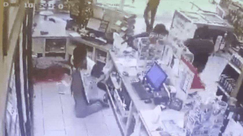Germán estaba trabajando para poder comprarse una computadora.(Captura de video)