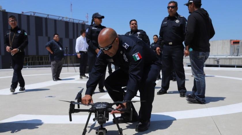 Los equipos son operados por el Centro de Control de Unidades Aéreas no Tripuladas.