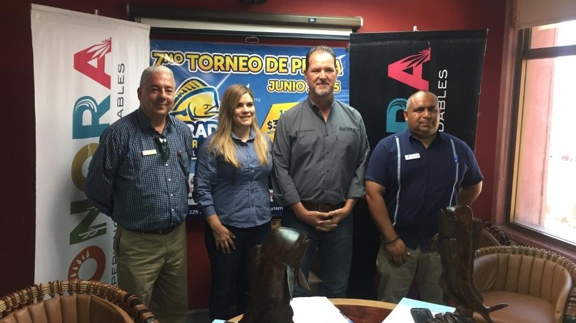 Los pormenores del Torneo de Pesca Dorado Derby se dieron a conocer en rueda de prensa.(Saúl Gómez)