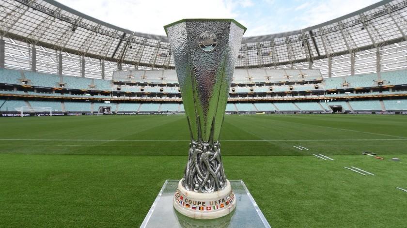 Chelsea y Arsenal se enfrentan por la Europa League.(Twitter)