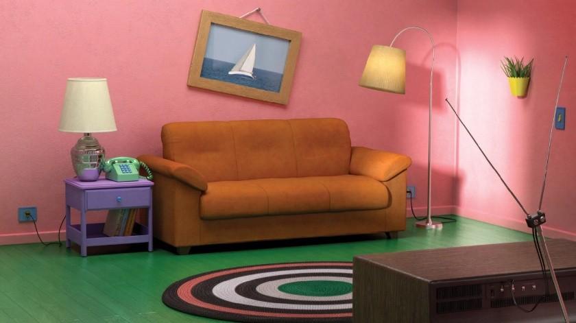 """Ikea armó habitaciones de """"Los Simpsons"""", """"Friends""""  y """"Stranger Things"""" con sus propios muebles(Tomada de la Red)"""