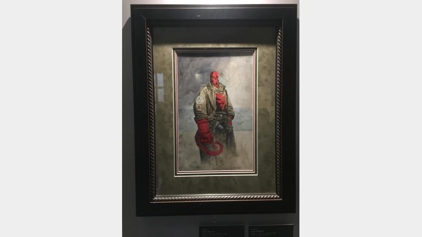 """Imágenes de la exposición """"En Casa con Mis Monstruos"""" de Guillermo del Toro(Amelia Obregón)"""