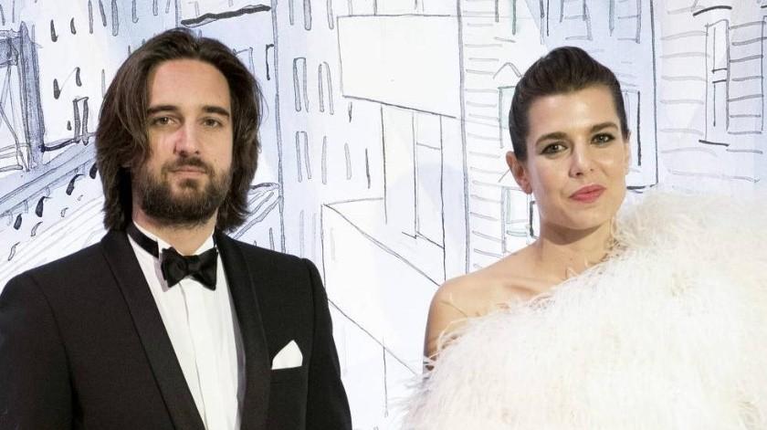 """De acuerdo con el diario """"El País"""", Carlota Casiraghi de 32 años de edad y el cineasta francés, Dimitri Rassam, realizarán este 1 de junio en el palacio de Mónaco el bautizo de su hijo Balthazar, quien nació en octubre, y su boda civil.(Tomada de la red)"""