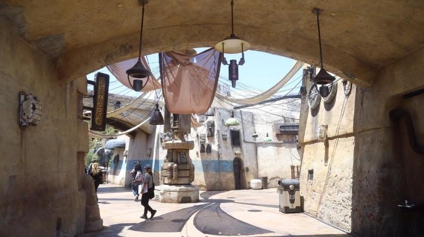 Desde esta mañana Grupo Healy tuvo acceso antes que el público en general a la nueva zona temática en Disneyland Resort, la ampliación más grande en los últimos 63 años de vida del parque.(Jesús Bustamante)