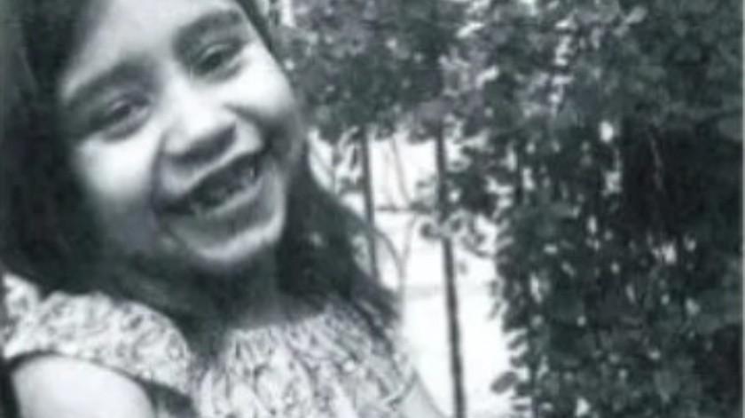 El cuerpo de Itzel Nohemí fue encontrado en un paraje desértico a cincuenta metros del canal donde fue vista por última vez.(Cortesía)