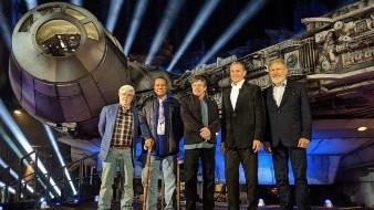 Millennium Falcon, la nueva atracción de Star Wars Galaxy's Edge tuvo su apertura oficial este miércoles en Disneyland Resort.