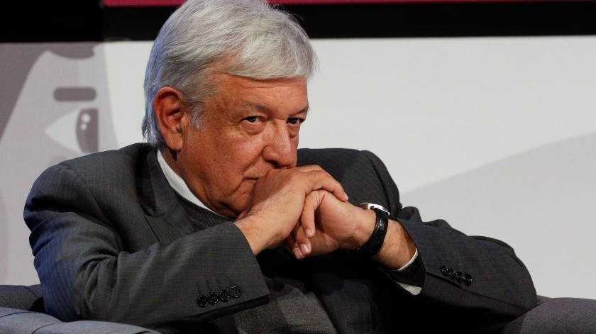 Andres Manuel Lopez Obrador - Mexican President-elect Andres Manuel Lopez Obrador listens during a meeting with Ricardo Salinas and other business leaders in Mexico City, Thursday, Nov. 22, 2018. The president-elect and Salinas signed an accord to offer internships within the Salinas Group for 12,000 young people and to create programs that would assist tens of thousands of additional youth.(AP Photo/Rebecca Blackwell)(Copyright 2018 The Associated Press. All rights reserved., AP)