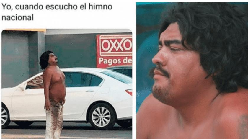 Un hombre que tenía tiempo perdido fue hallado por sus familiares gracias a la viralización de un meme.(Especial.)