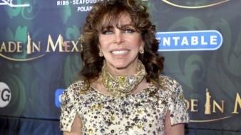 La actriz Verónica Castro fue espiada por el gobierno de López Portillo.