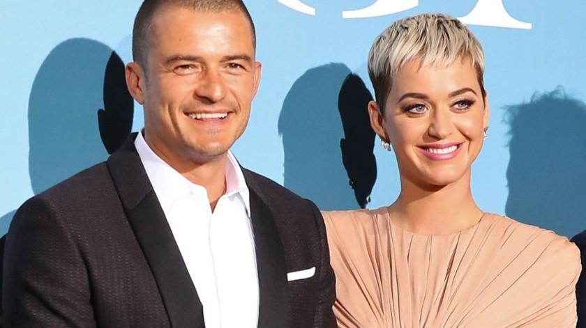 Katy Perry y Orlando Bloom aún no revelan la fecha de su boda.(Cortesía)