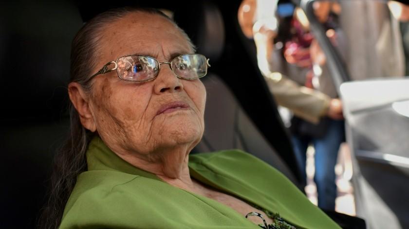 María Consuelo Loera Pérez, madre de ''El Chapo'' Guzmán.(AFP)