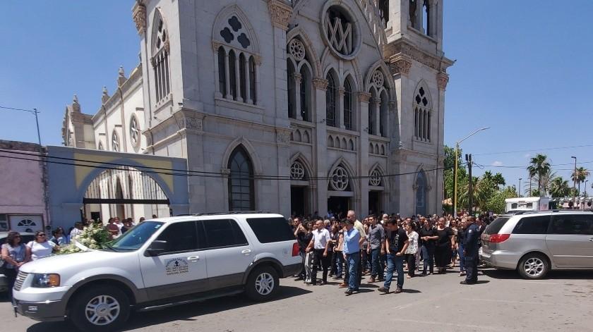 Desde la Funeraria San José partirá el cortejo fúnebre.(Rubén Ruíz)