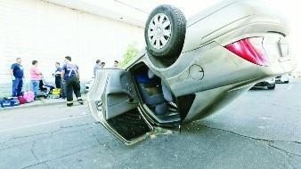 Accidentes tienen un alza de 111% en el Estado