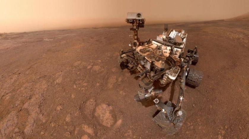 Un fenómeno similar ha sido registrado por otra sonda espacial de la NASA, la InSight, que aterrizó en Marte el pasado mes de noviembre y que se encuentra a una distancia de aproximadamente 600 kilómetros del Curiosity.(NASA)