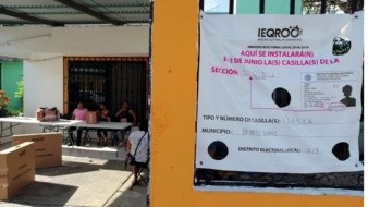 Aventaja Morena en PREP de Quintana Roo