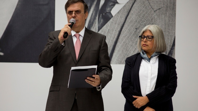 Marcelo Ebrard, Graciela Marquez(Copyright 2018 The Associated Press. All rights reserved, AP)