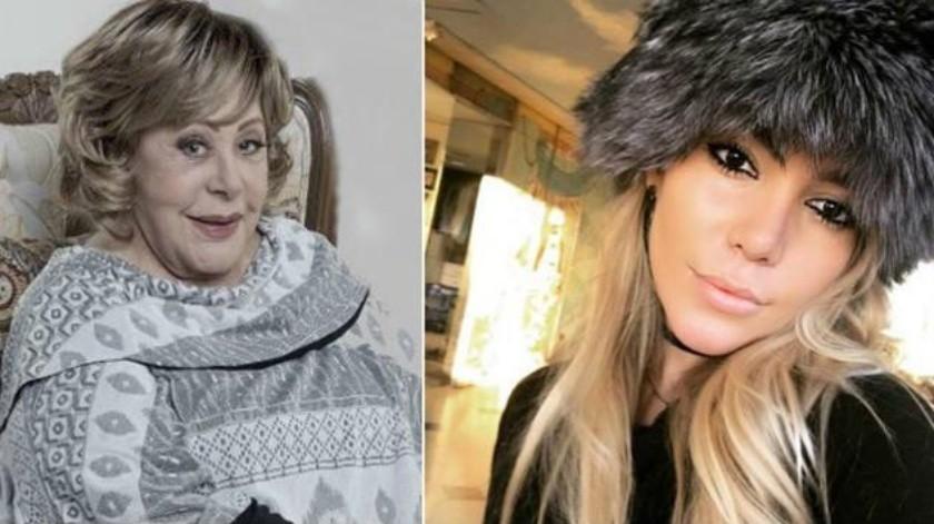 Doña Silvia Pinal aprovechó la entrevista del programa Hoy para enviarle un mensaje a su nieta Frida Sofía, quien sigue disgustada contra su madre, la cantante Alejandra Guzmán.(Tomada de la red)