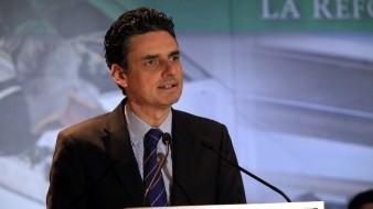 Guillermo García Alcocer anunció que deja la Comisión Reguladora de Energía.