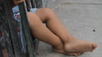 Encuentran a un niño solo en calles de la colonia Tierra Nueva, por lo que avisan a las autoridades para que lo resguardaran.