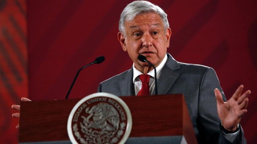 La aprobación del presidente Andrés Manuel López Obrador aumentó a un 72%, desde 67% en los días previos al anuncio de Donald Trump de que impondría aranceles a todos los productos mexicanos.(AP)