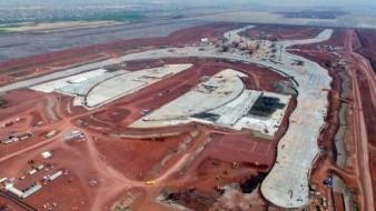 Sobre mamuts, construirán aeropuerto de Santa Lucía