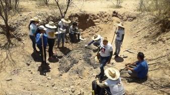 Hallan Buscadoras fragmentos humanos calcinados en Guaymas