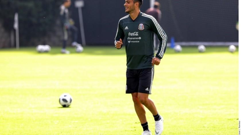 """El futbolista del Wolverhampton es uno de los dos """"9"""" del Tri, junto a Alexis Vega.(Agencia Reforma)"""