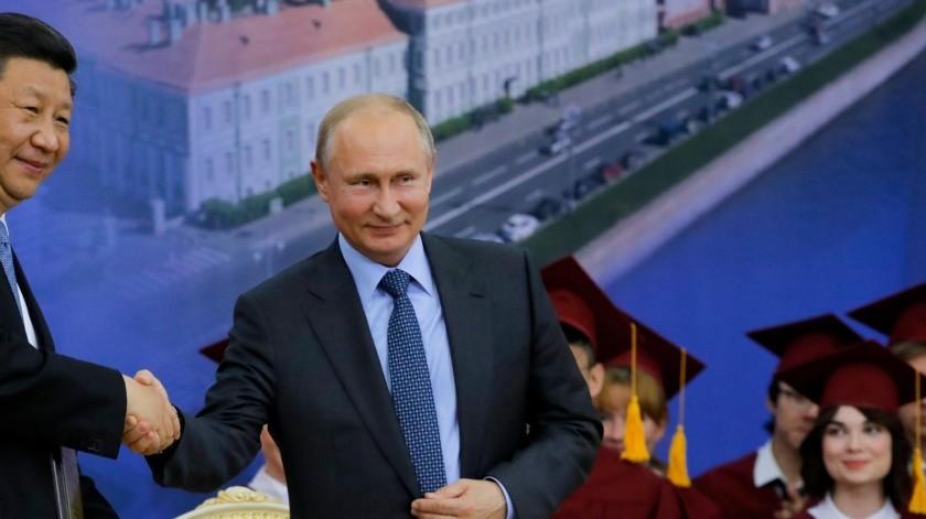 Rusia es junto a China uno de los principales apoyos diplomáticos del régimen de Nicolás Maduro-(AFP)