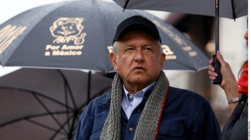 El presidente López Obrador convocó a un acto el próximo sábado en Tijuana, para defender la dignidad de México y favor de la amistad con el pueblo de Estados.(Agencia Reforma)