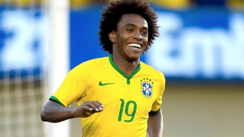 El extremo brasileño jugará su primera Copa América con el combinado carioca.(Twitter)