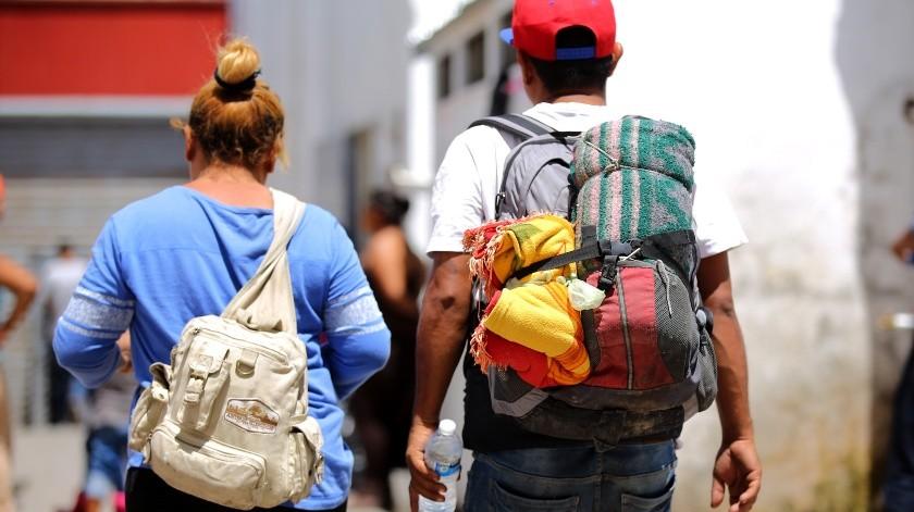 El representante del albergue Alfa Omega, Thomas Diosdado, comentó que el flujo de migrantes ha sido constante, a quienes han refugiado en diversos sitios dedicados al apoyo de migrantes. (Archivo)