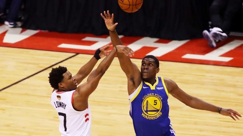 Warriors recuperan a Thompson y Looney para Final de NBA(AFP)