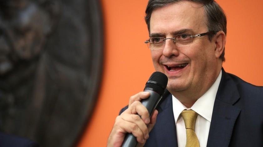 No habrá aplicación de aranceles el lunes: Ebrard(AFP)