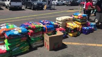 Se recibirán donaciones de alimento hasta las 18:00 horas.