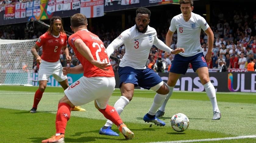 Inglaterra se queda con el tercer lugar de la Liga de Naciones.(Twitter)