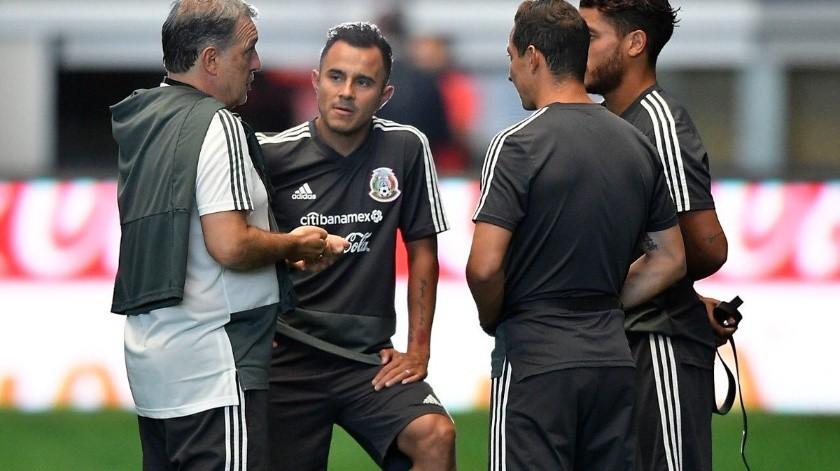 La Selección Mexicana se encuentra invictaen los tres partidos que ha dirigido Gerardo Martino y quiere extender esa racha rumbo a la Copa Oro.(Twitter/@miseleccionmx)