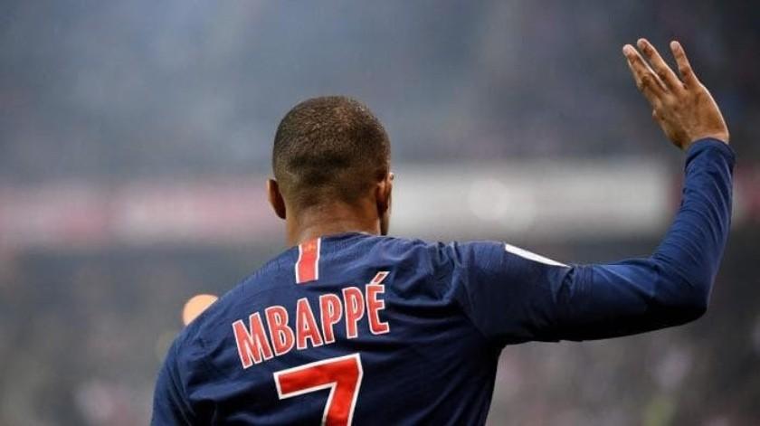 Kylian Mbappé ya no quiere estar en el PSG.(Twitter)
