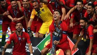Portugal se convirtió en el primer campeón de la Liga de Naciones al imponerse por 1-0 a Holanda en la final de este nuevo torneo continental, este domingo en Oporto.