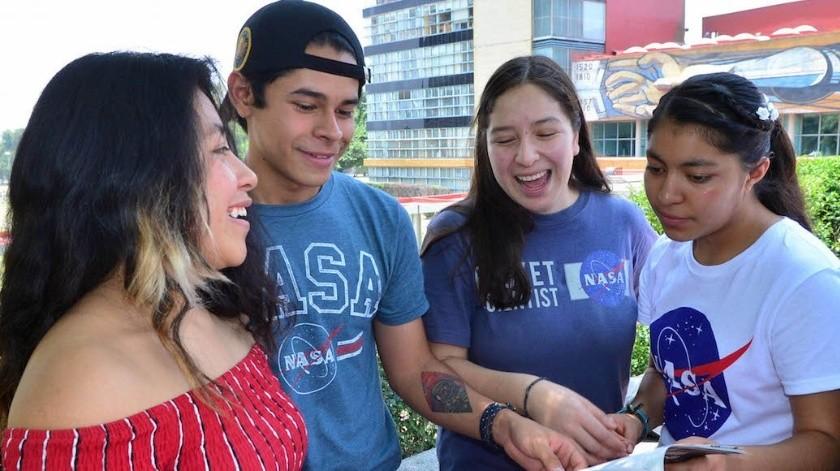 Ganan concurso de la NASA estudiantes de preparatoria(Twitter @SinEmbargoMX)