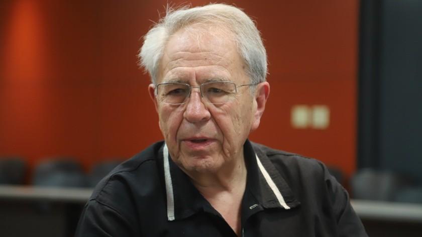 Jorge Alcocer Varela, secretario de Salud federal.(Jesús Bustamante.)