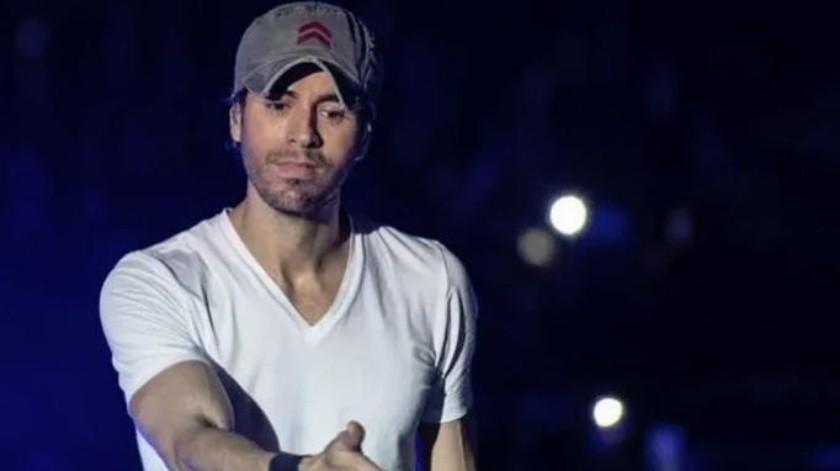 Enrique Iglesias aprovechó la oportunidad para manifestar su agradecimiento con sus seguidores mexicanos.(Tomada de la red)