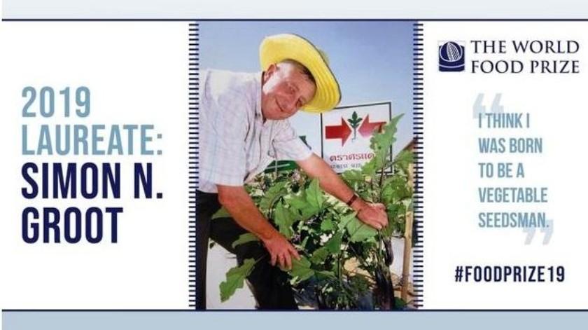 Simon Groot, es un productor de semillas de sexta generación, comenzó a buscar mejores semillas de verduras en el sureste de Asia en 1981 para ayudar a los agricultores.(Tomada de la red)