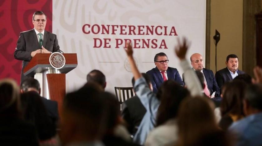 Marcelo Ebrard(Gobierno de México)