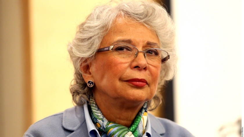 La secretaria de Gobernación, Olga Sánchez Cordero, aseveró este jueves que México mantendrá la política de acoger a los migrantes(Agencias)