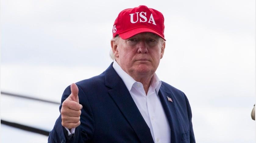 Trump había amenazado con imponer aranceles pero suspendió la medida el viernes cuando anunció un acuerdo con México para frenar el flujo de migrantes.(AP)