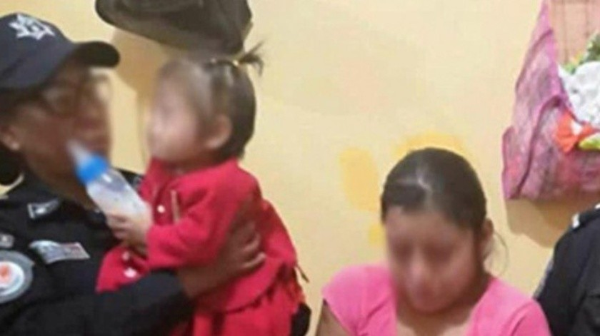 """Patricia fue bautizada en redes como """"La hiena de Guerrero"""" por golpear brutalmente a su bebé."""