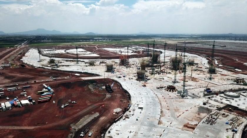 Un tribunal federal ordenó que se mantenga intacta la obra del Nuevo Aeropuerto Internacional de México.