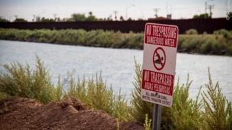 La corriente del Canal Todo Americano es fuerte, por lo que es un peligro para los migrantes que intentan cruzarlo.