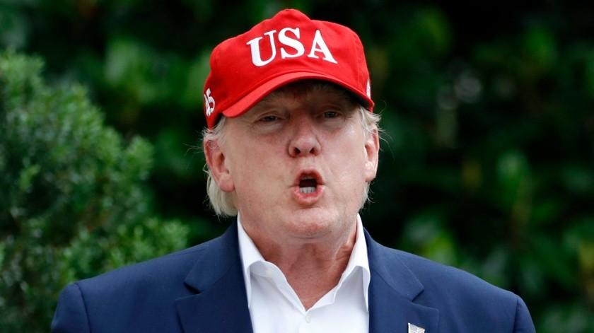 Trump aceptaría información extranjera de su rival en 2020(AP)
