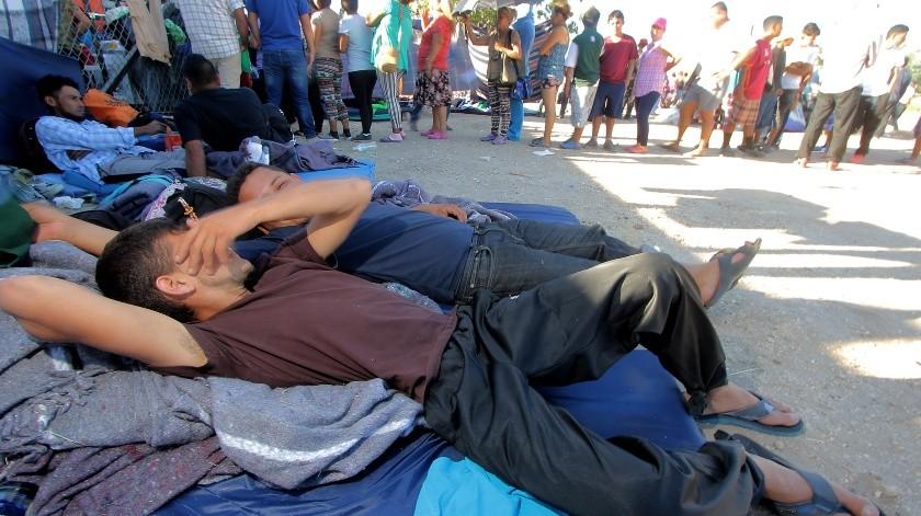Del martes al viernes de la semana pasada se retornó a San Pedro Sula a 412 hondureños que permanecían en México de manera irregular y el lunes le tocó a otro grupo de 68 cubanos.(Archivo)